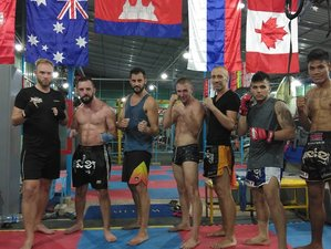 3 Day Fight Camp and Kun Khmer Kickboxing Training in Siem Reap