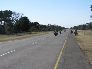 34 Days Safari Guided Motorcycle Tour in South Africa, Namibia, Zambia, Malawi, and Tanzania