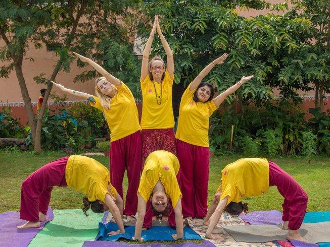 28 Days 300-hours India Yoga Teacher Training