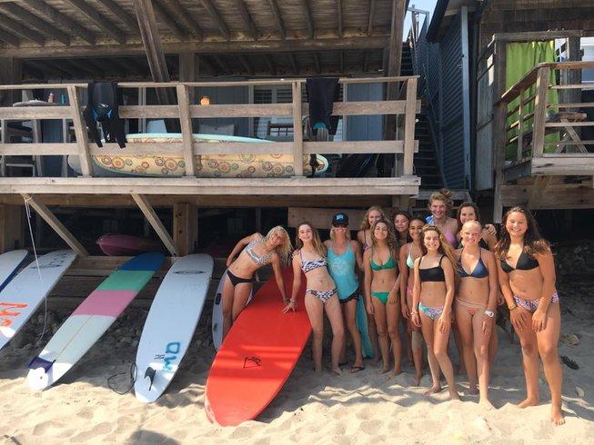 6 Days Teen Summer Surf Camp in California