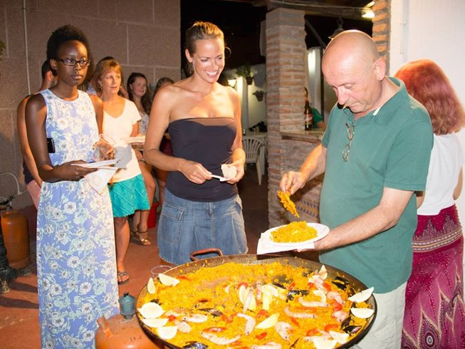 7 Days Cooking and Spanish Language Course in Spain