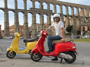 4 Day The Expedition Circular Self-Guided Vespa Tour in the North of Madrid, Spain