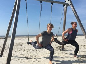 8 Tage Happiness Yoga Ferien mit Kinderbetreuung in St. Peter Ording an der Nordsee