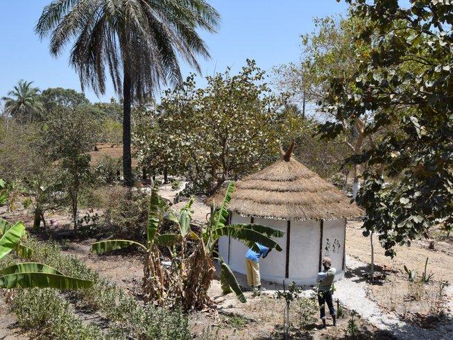 7 jours en stage de yoga vinyasa flow écologique à Gunjur, Gambie
