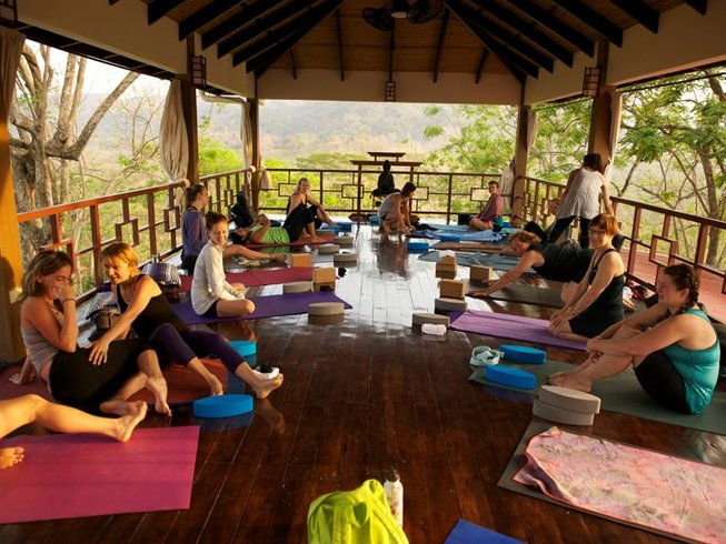 8 Days Surf, Yoga, and Meditation Retreat in Costa Rica