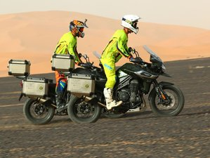 7 Day Adventure Morocco Guided Motorcycle Tour with Jordi Arcarons (Legend of Dakar) from Spain