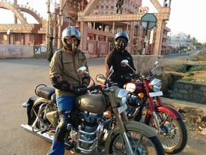 2 Days Stone Marvels and Ancient Hoysala Kingdom Motorcycle Tour in India