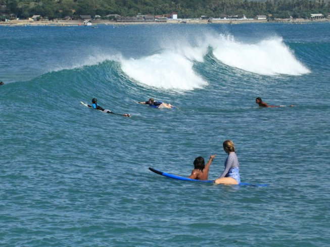 8 Days Tropical Surfcamp in Lombok, Indonesia