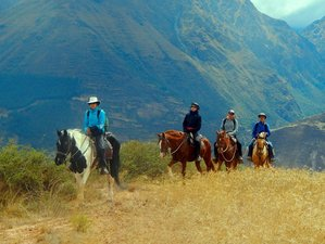 2 Day VIP Horse Riding Holiday in Cusco, Peru