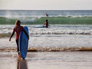 8 Days Yoga and Surf Camp in Praia da Luz, Lagos, Portugal