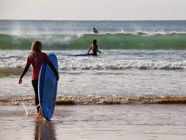 8 Days Yoga and Surf Camp in Praia da Luz, Lagos, Portugal