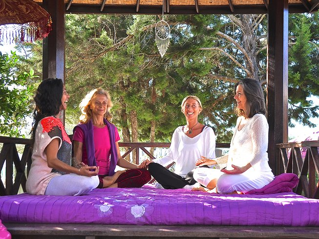 6 Days Get Glowing Yoga Retreat in Ibiza, Spain