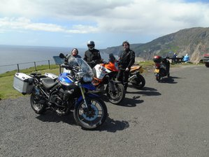 7 Days Guided Motorcycle Tour in Northern Ireland through the beautiful top half of Ireland