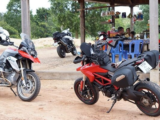 10 Days Cross-Country Motorcycle Tour in Thailand and Cambodia