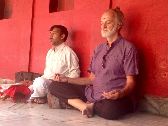 11 Days Pilgrimage Meditation and Yoga Retreat in India