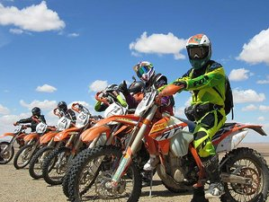 9 Days Master Rally Motorcycle Tour in Mongolia