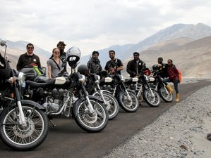 9 Day The Great Lakes Guided Motorcycle Tour in Ladakh