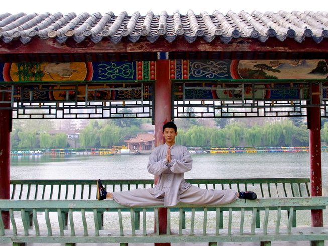 8 Months Qigong and Shaolin Kung Fu Training in Shandong Province, China