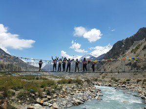 11 Day Ride and Trek Off-Road Guided Motorcycle Tour in Manang, Nepal