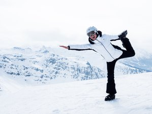 8 Days New Year Ski Yoga Retreat in France