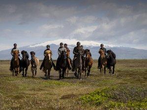 2 Day Black Beach Riding Retreat and Farm Stay in Hvolsvöllur, Rangárþing eystra