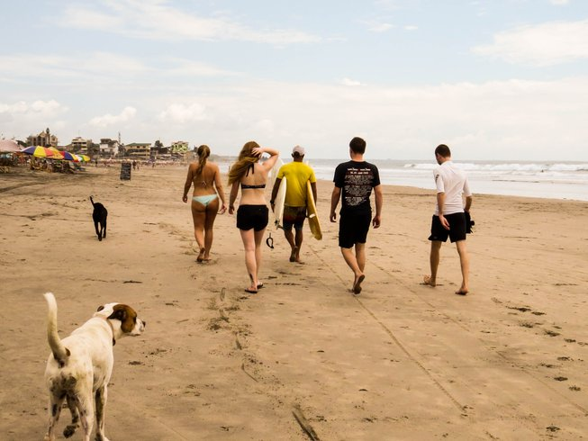 7 Day Spanish and Surf Camp in Montañita, Ecuador