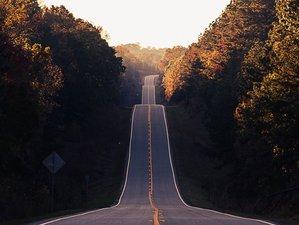 Terrain: Paved roads