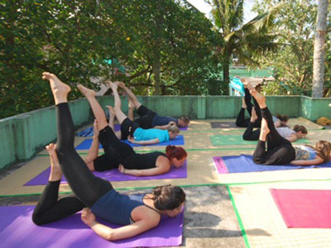 29 Days 200-Hour Yoga Teacher Training Kerala, India