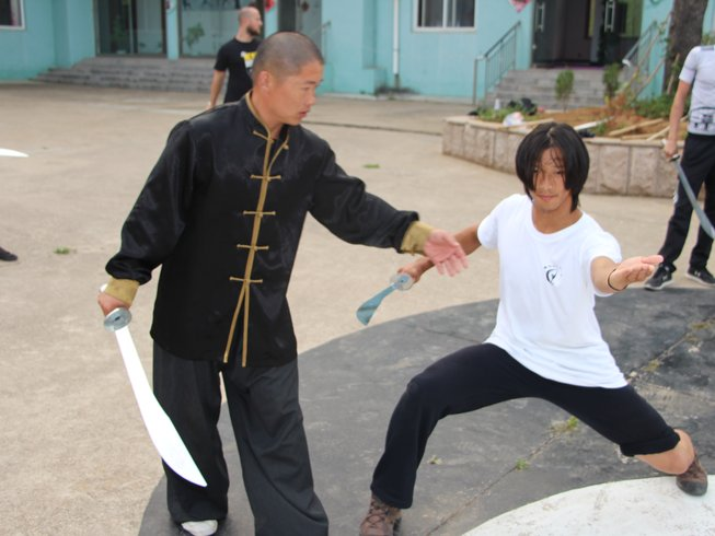 1 Month Traditional Shaolin Kung Fu Training in China