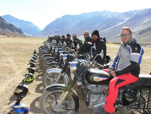 14 Days Himalayan Heights Guided Motorcycle Tour in India
