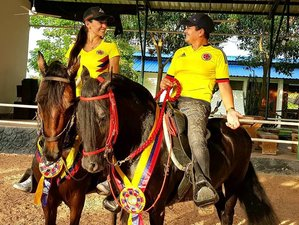 4 Day Relaxing Horseback Riding Holiday in Sabana de Torres, Santander
