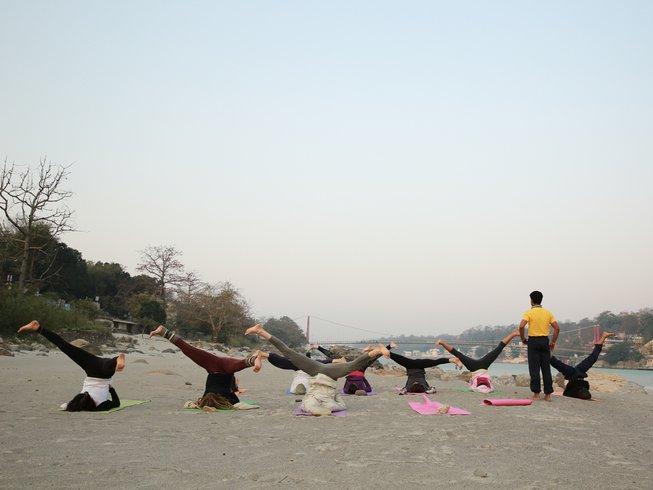 28 Days 300-hour Yoga Teacher Training Scholarship in India