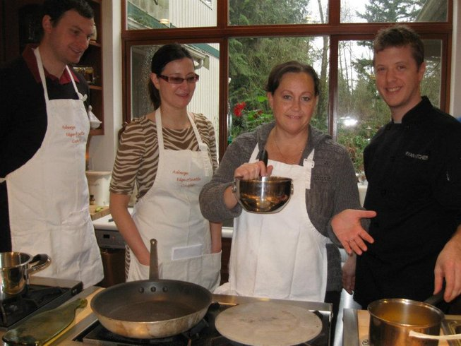 2 Days French Gourmet Cooking Vacations USA