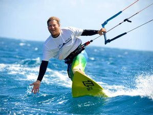 8 Days Kitesurfing Camp in Le Morne Brabant, Mauritius