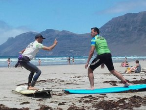 7 Days Full Experience Surf Camp in Lanzarote, Spain