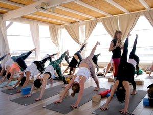 5 Day Vinyasa Yoga Immersion in Stagnone Lagoon, Sicily with Workshops, Kitesurfing, Rock-Climbing