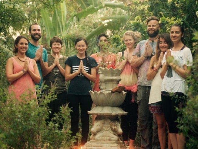15 Days Chakra Sadhana Yoga Retreat in Goa, India