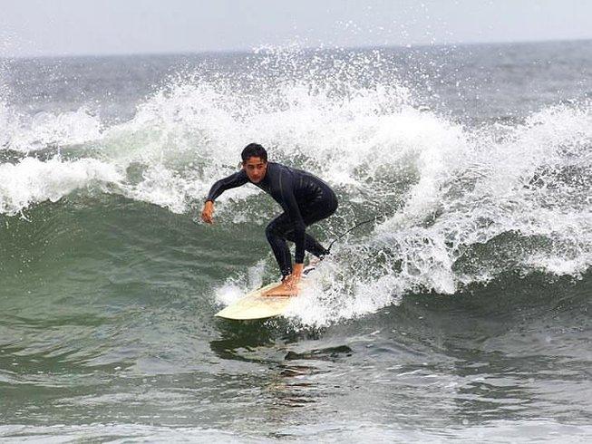 7 jours en stage de surf et de yoga à Tamraght, Maroc