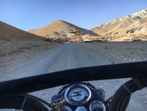15 Day Thrilling Guided Motorcycle Tour to Upper Mustang, Nepal