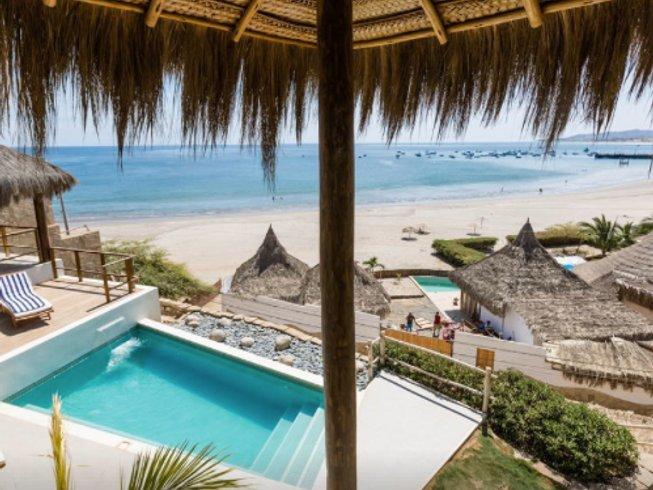 8 Days Deluxe Kiteboarding, Yoga & Surf Retreat in North Shore, Peru
