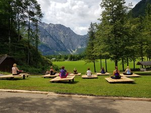 5 Days Summer Yoga Retreat With Anja Jetter in Solčava, Slovenia