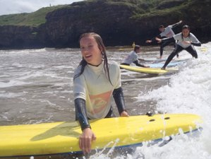 3 Days Refreshing Family Surf Camp in Bundoran, County Donegal, Ireland