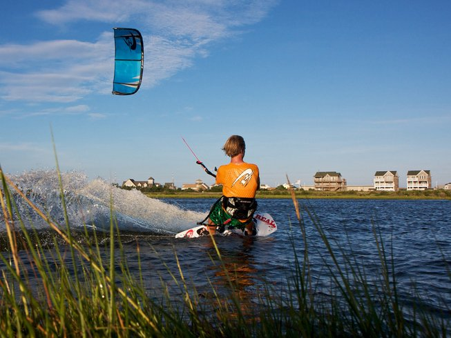 3 Days Private Kitesurfing Surf Camp North Carolina