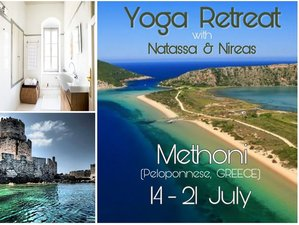 8 Days Full Moon Yoga Retreat in Methoni, Greece