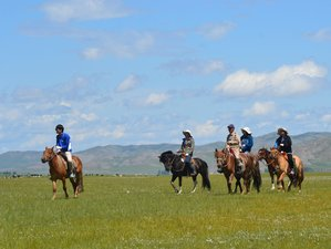 10 Day Horse Riding Tour in Horgo-White Lake National Park in Mongolia