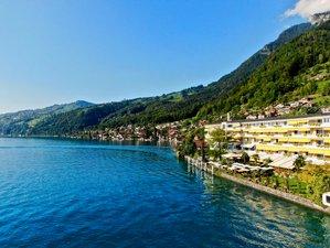 6 Tage Vinyasa Flow Yoga und Yin Yogawochenende am Thunersee in der Schweiz
