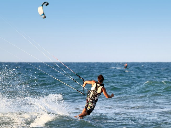 14 Days Spanish and Kite Surf Camp in Valencia, Spain