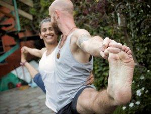14 días 100 horas de profesorado de yoga Vinyasa y la primera serie en Goa, India