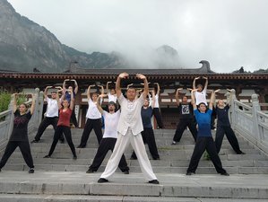 60 Day Authentic Kung Fu Training and Buddhist Cultivation under Warrior Monks in Anqing, Anhui