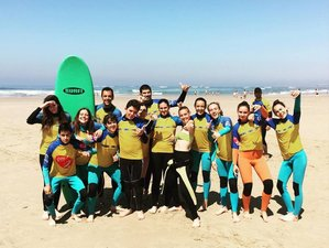 4 Days Invigorating Surf Camp in Caxias, Oeiras, Portugal